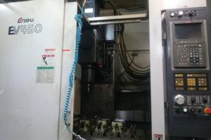 マシニングセンターNC工作機<br>EV450(エンシュウ製)